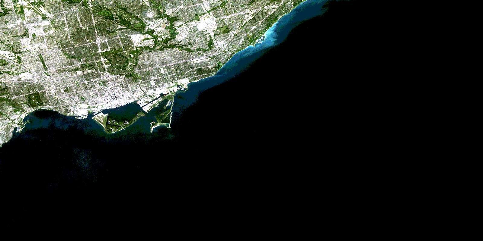 Toronto Harta Prin Satelit Harta Toronto Prin Satelit Canada